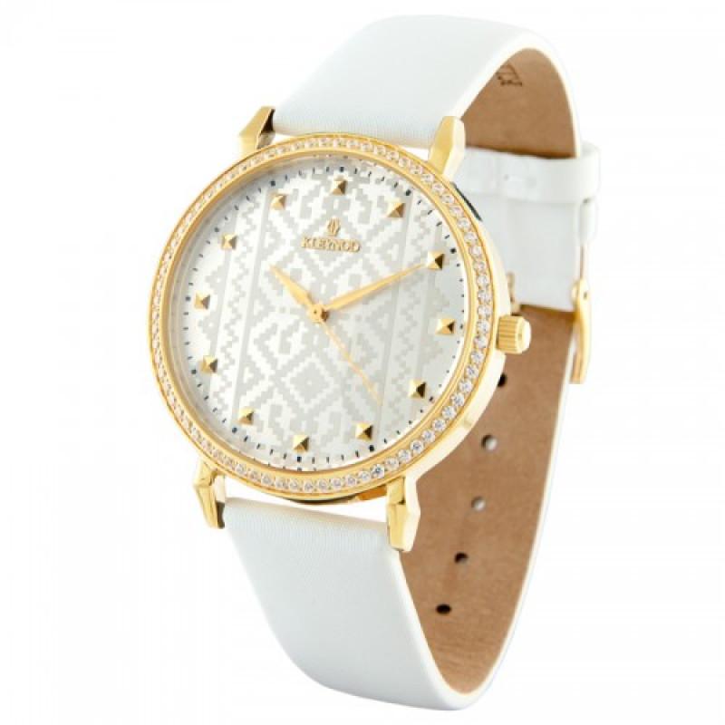 Наручний годинник Вишиванка у золотавому корпусі модель K 138-611W ... 8f0f54b21172f