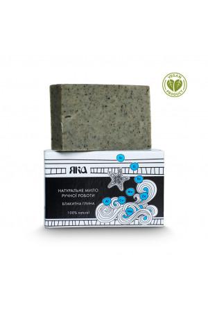 Мыло натуральное «Голубая глина» (75 г)