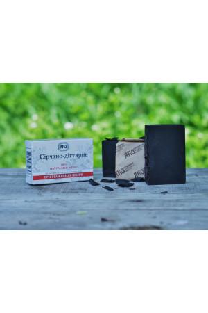 Мыло натуральное «Серно-дегтярное» (75 г)