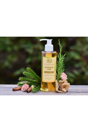 Натуральный гель для душа «Липовый мед» (200 мл)
