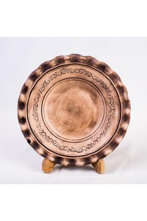 """Тарелка-волновка """"Шляхтянская"""", диаметр 25 см"""