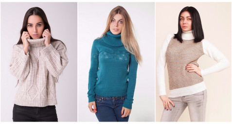 Світшоти, кофти та светри