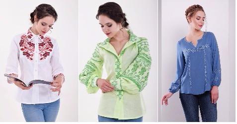 Женские вышиванки