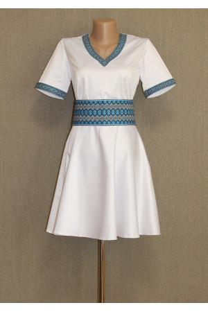 Платье «Красотка» синего цвета
