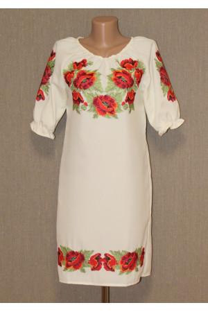 Сукня «Ніжні маки»