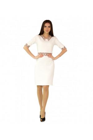 """Платье """"Ландыш"""" белого цвета"""