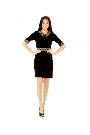 """Платье """"Ландыш"""" черного цвета"""