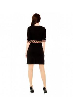 """Сукня """"Конвалія"""" чорного кольору"""