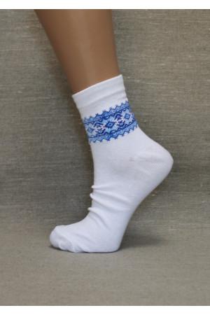 Вишиті жіночі шкарпетки Ж-07