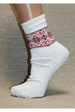 Вышитые женские носки Ж-12