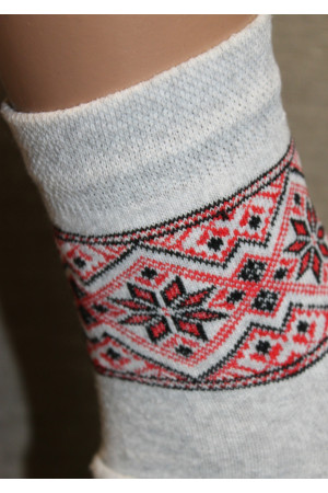Вишиті жіночі шкарпетки Ж-12