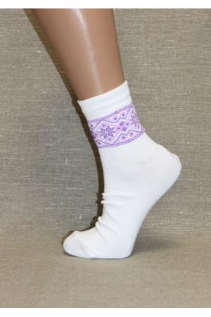 Вышитые женские носки Ж-10