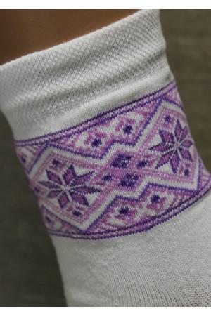 Вишиті жіночі шкарпетки Ж-10