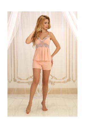 Пижама П-М-26 цвета пудры