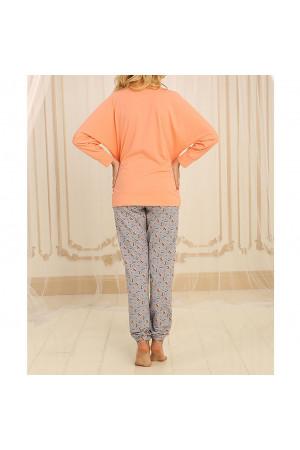 Піжама П-М-62 персикового кольору