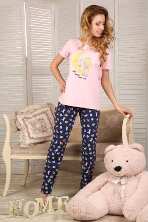 Пижама П-М-51 розового цвета