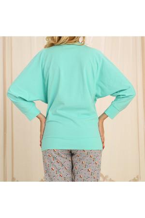Піжама П-М-62 м'ятного кольору