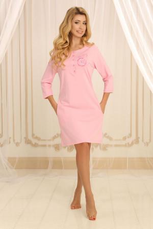 Ночная рубашка НС-М-79 розового цвета