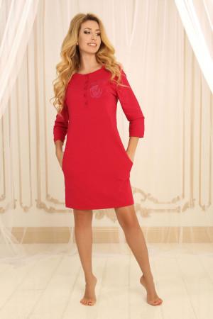 Нічна сорочка НС-М-79 червоного кольору