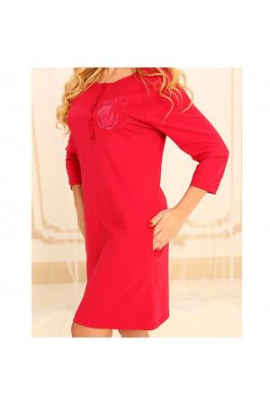 Ночная рубашка НС-М-79 красного цвета