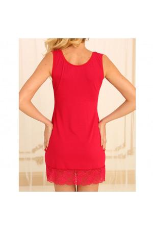 Нічна сорочка НС-М-80 червоного кольору