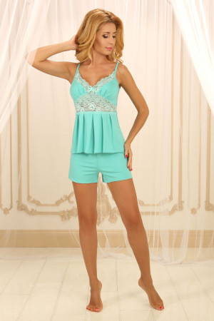 Пижама П-М-26 мятного цвета