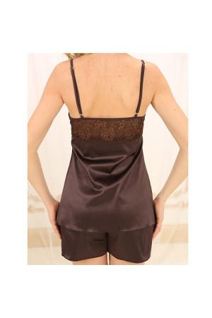 Пижама ПШ-М-1 шоколадного цвета