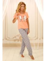 Піжама П-М-56 персикового кольору