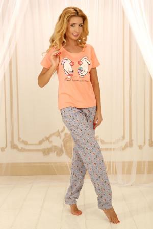 Пижама П-М-56 персикового цвета