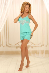 Пижама П-М-52 мятного цвета