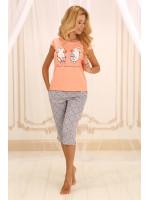 Піжама П-М-55 персикового кольору