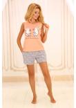 Піжама П-М-50 персикового кольору