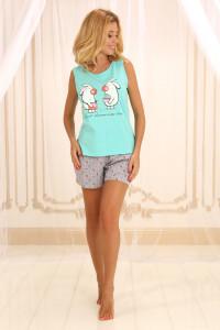 Пижама П-М-50 мятного цвета