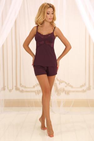 Пижама П-М-45 вишневого цвета