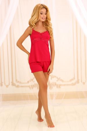Пижама П-М-45 красного цвета