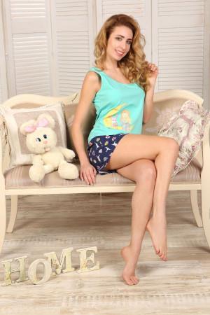Пижама П-М-54 мятного цвета