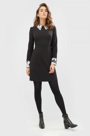 """Платье """"Долис"""" черного цвета"""