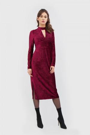 """Платье """"Лалис"""" бордового цвета"""