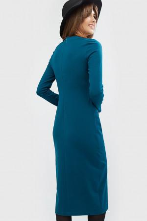 """Платье """"Льюис"""" цвета морской волны"""