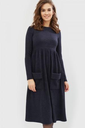 """Платье """"Неве"""" синего цвета"""
