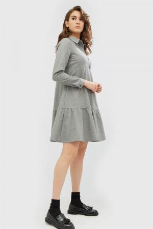 "Платье ""Савио"" серого цвета"