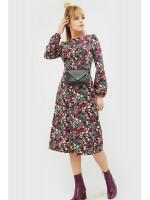 """Сукня """"Селім"""" бордового кольору"""