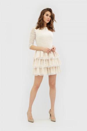 """Сукня """"Зефір"""" молочного кольору"""