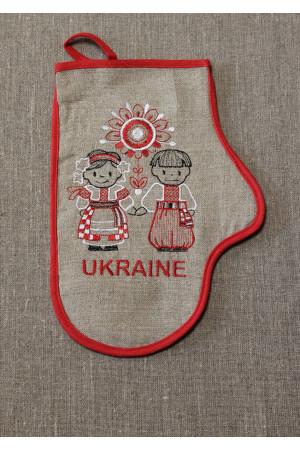 """Рукавичка-прихватка """"Ukraine"""" права"""
