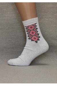 Вышитые мужские носки М-22