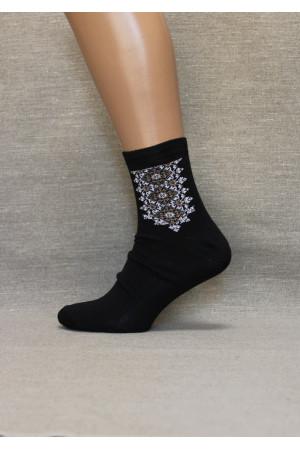 Вышитые мужские носки М-18