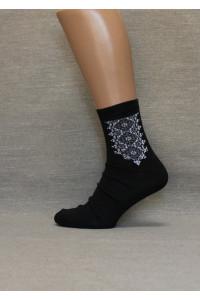 Вышитые мужские носки М-19