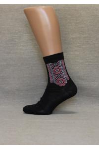 Вышитые мужские носки М-20