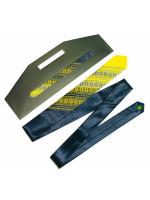 """Краватка з сатину """"Жовто-синій дует"""""""