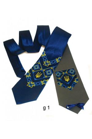 """Краватка з вишивкою """"Щек"""""""